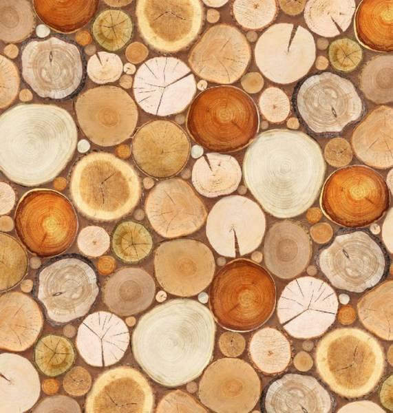Купить фотообои для стен: Деревянная мозаика