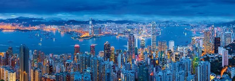 Купить фотообои для стен: Гонконг