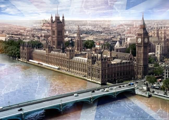 Купить фотообои для стен: Лондон