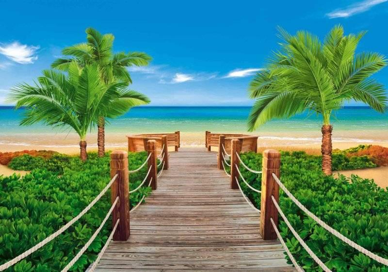 Купить фотообои для стен: Пляжный сезон 1