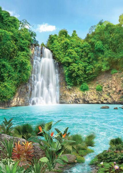 Тропический водопад