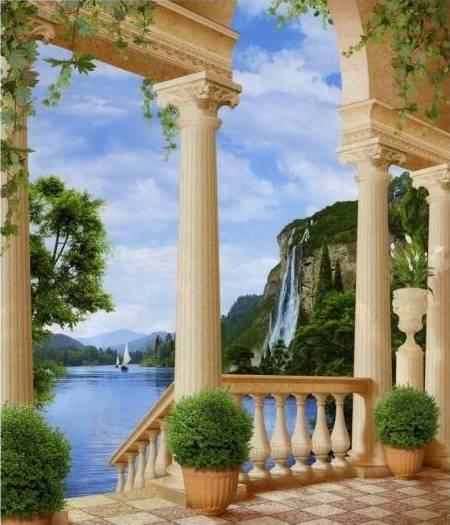 Купить фотообои для стен: Озеро грез