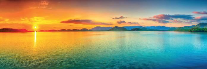 Купить фотообои для стен: Морская панорама