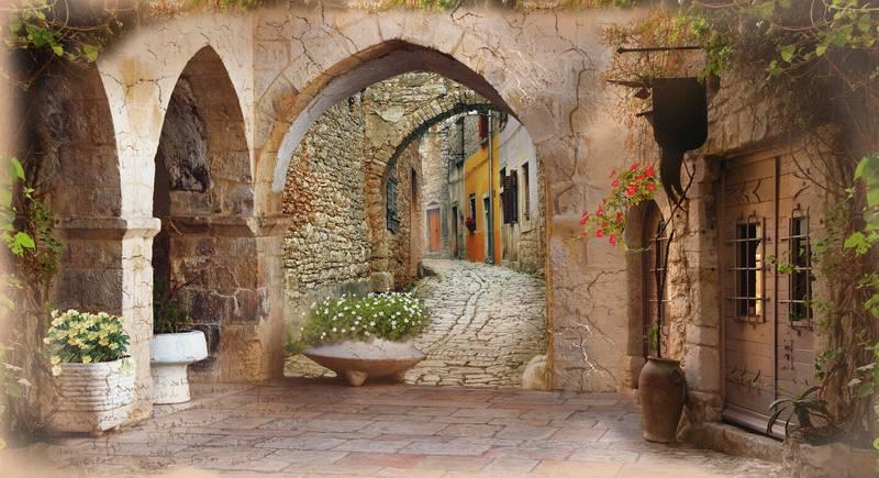 Купить фотообои для стен: Сен-Тропе