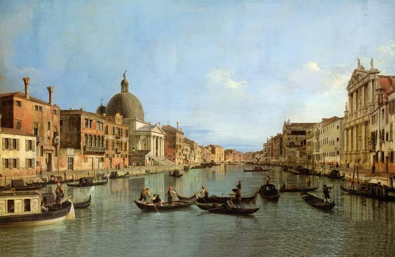 Купить фотообои для стен: Grand Canal, фреска