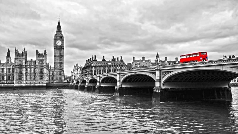 Купить фотообои для стен: Westminster Bridge