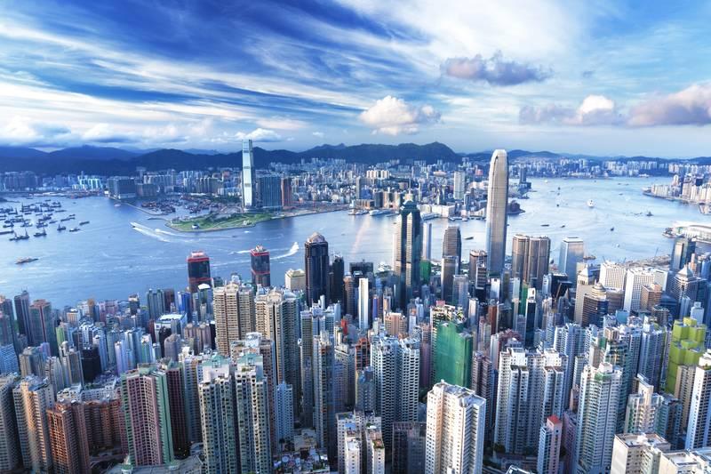 Купить фотообои для стен: Hong Kong
