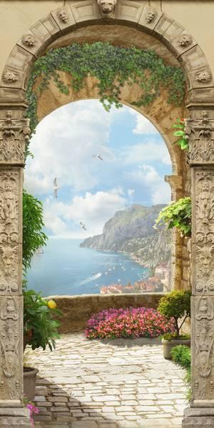 Купить фотообои для стен: Испанский пейзаж