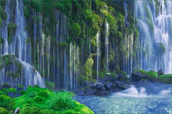 Купить фотообои для стен: Симфония воды
