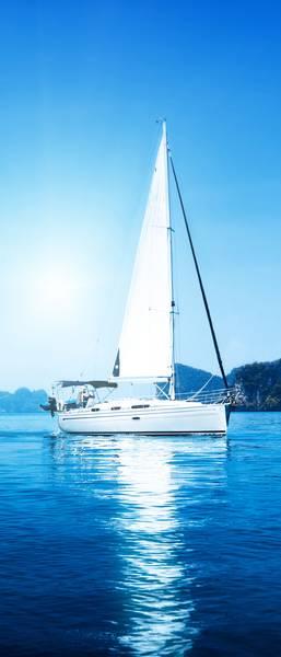 Купить фотообои для стен: Яхта