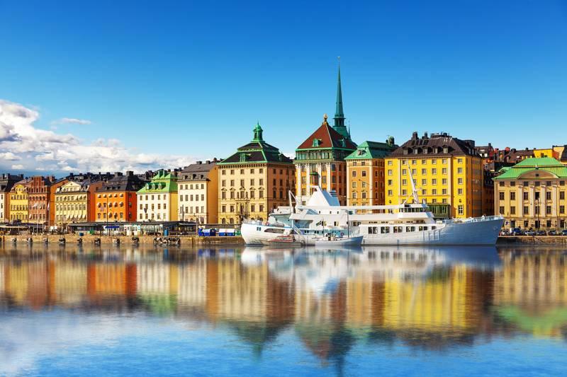 Купить фотообои для стен: Стокгольм, Швеция