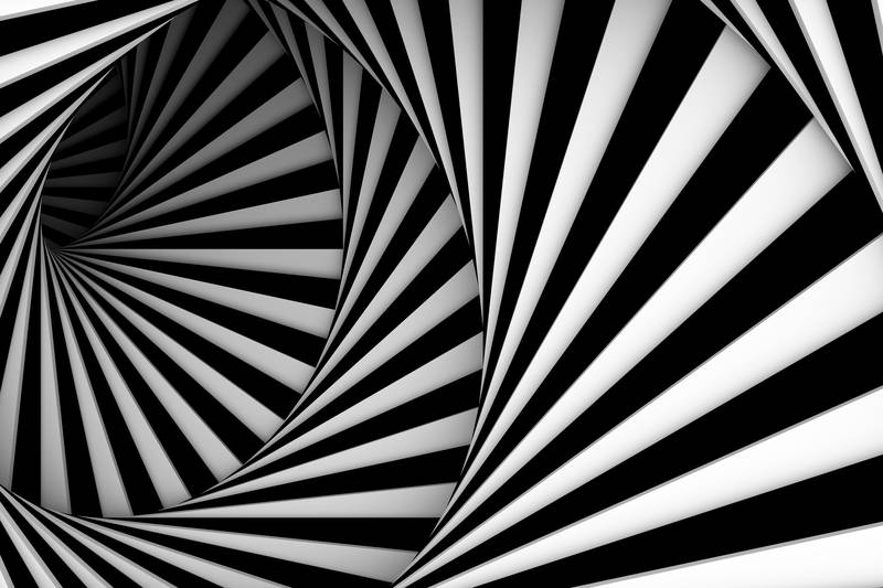 Купить фотообои для стен: Спираль