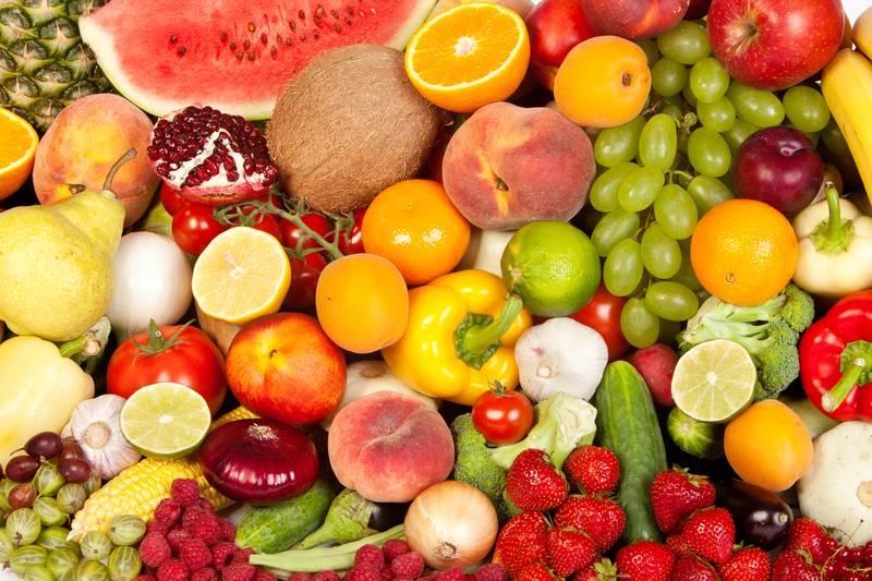 Купить фотообои для стен: Фрукты, ягоды,овощи