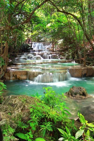 Купить фотообои для стен: Тайский водопад 1