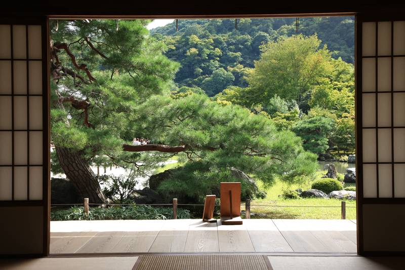 Купить фотообои для стен: Японский сад
