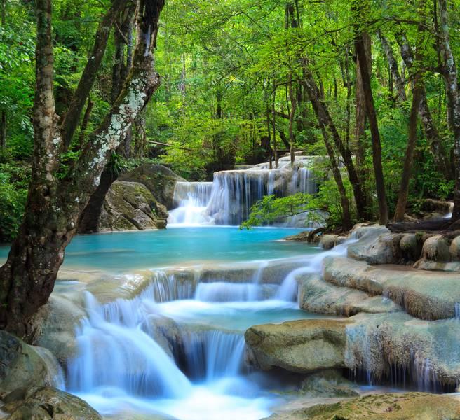 Купить фотообои для стен: Тайский водопад 2
