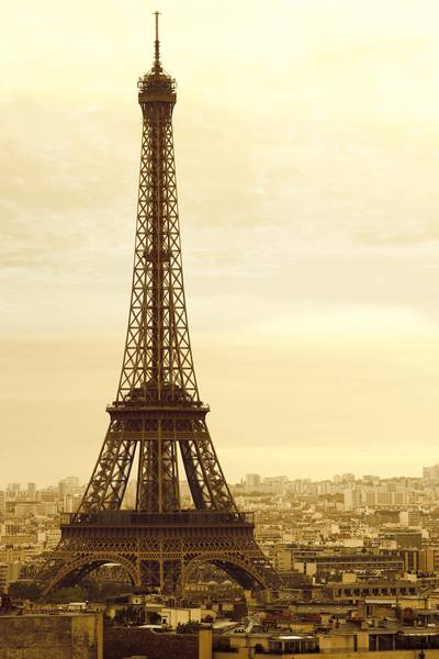 Купить фотообои для стен: Париж, рассвет