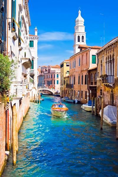 Купить фотообои для стен: Венеция, улочка