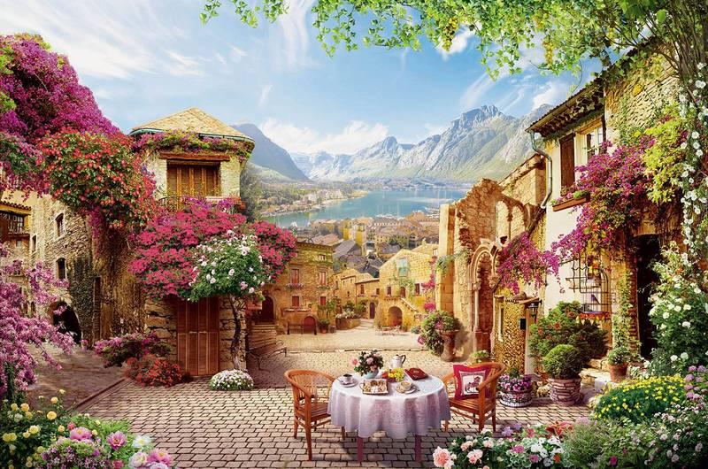 Купить фотообои для стен: Старый дворик