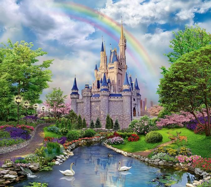 Купить фотообои для стен: Сказочный замок
