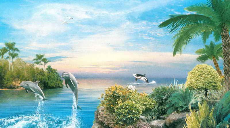 Купить фотообои для стен: Волшебные острова