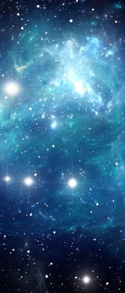 Купить фотообои для стен: Дальние галактики