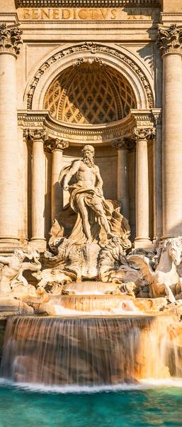 Купить фотообои для стен: Фонтан в Риме