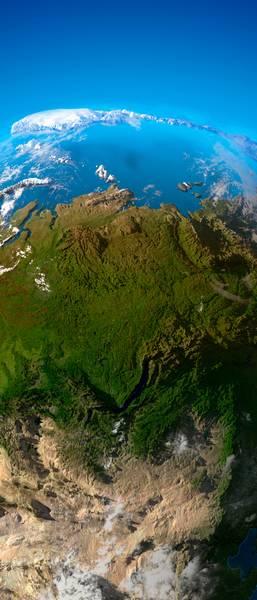 Купить фотообои для стен: Планета Земля