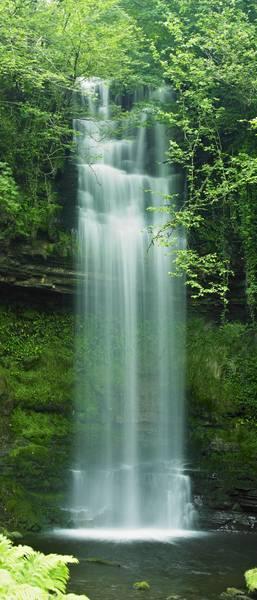 Купить фотообои для стен: Водопад в лесу