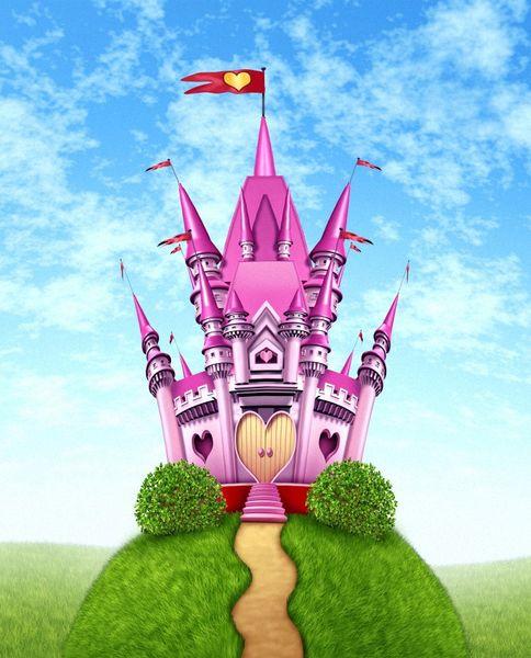 Купить фотообои для стен: Замок для принцессы