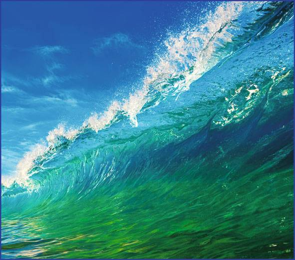Купить фотообои для стен: Волна
