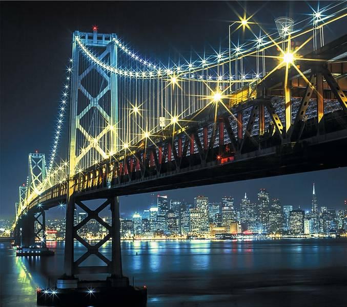Купить фотообои для стен: Бруклинский мост