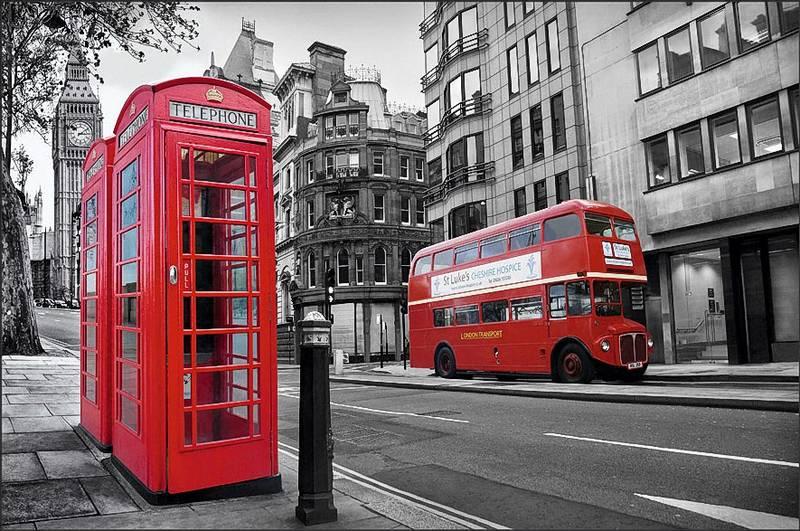 Купить фотообои для стен: Лондон +