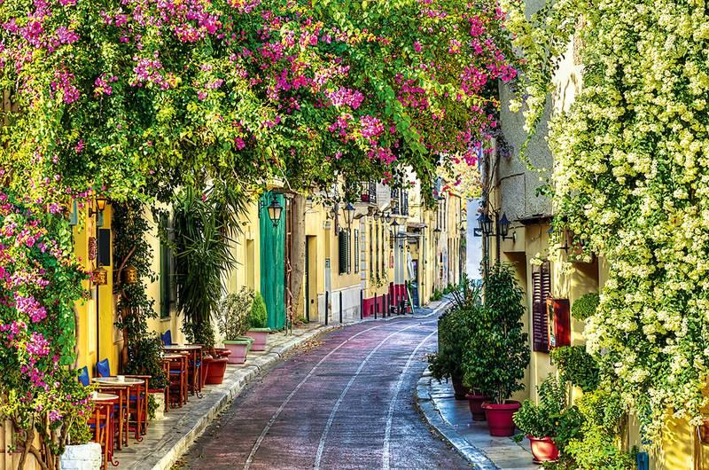 Купить фотообои для стен: Мотивы греции