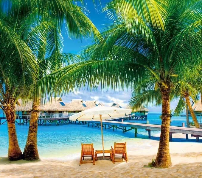 Купить фотообои для стен: Мальдивы