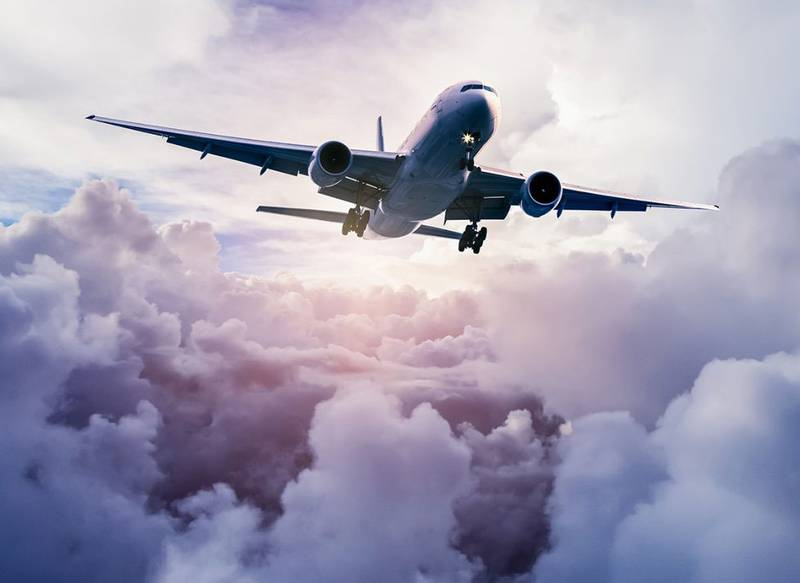 Купить фотообои для стен: Самолет