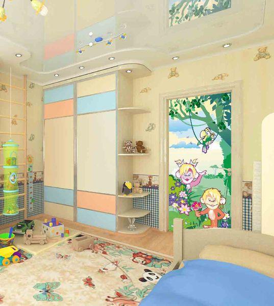 Фотообои в интерьере детской комнаты