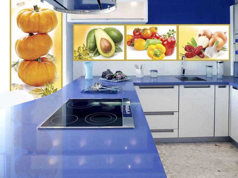 Фотообои в интерьере кухни