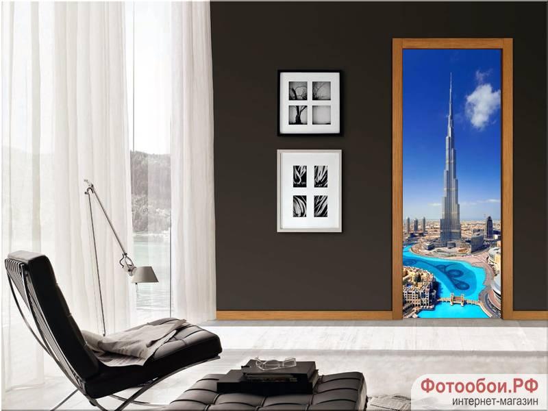 Дубай - фотообои в интерьере
