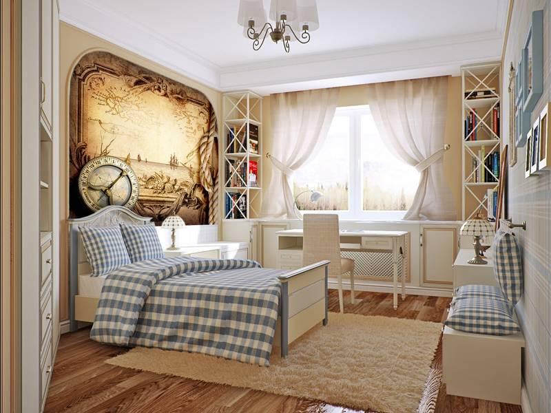 Фотообои в интерьере для спальни: фотообои карты, старинная карта, морское путешествие, морской, море, фрески, компас