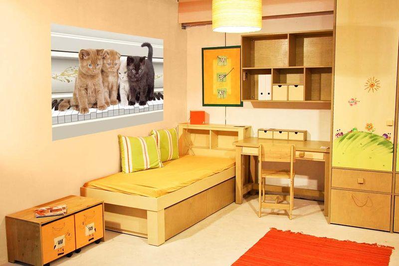 Квартет - фотообои в интерьере
