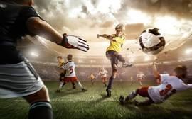 Футбол, молодой чемпион