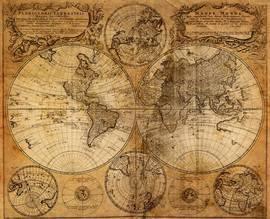 Старинная карта 1
