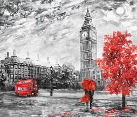 Лондон, картина