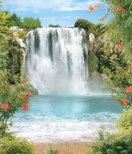 Чарующий водопад