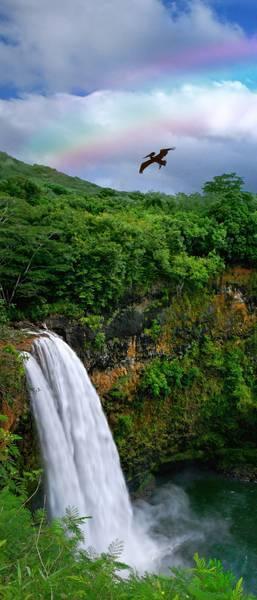 Доисторический водопад