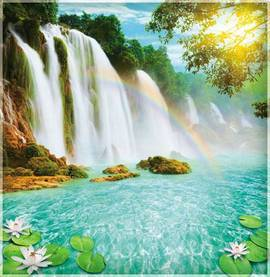 Радужные водопады