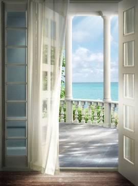 Выход на балкон