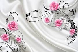 Шелк и розы