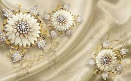 Золотые мечты, цветы